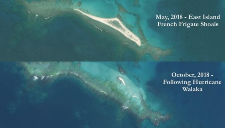 VIDEO Insula ștearsă de pe suprafața pământului de uragan
