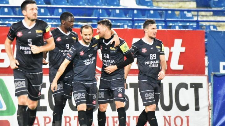 VIDEO | FC Hermannstadt, prima sfertfinalistă a Cupei României