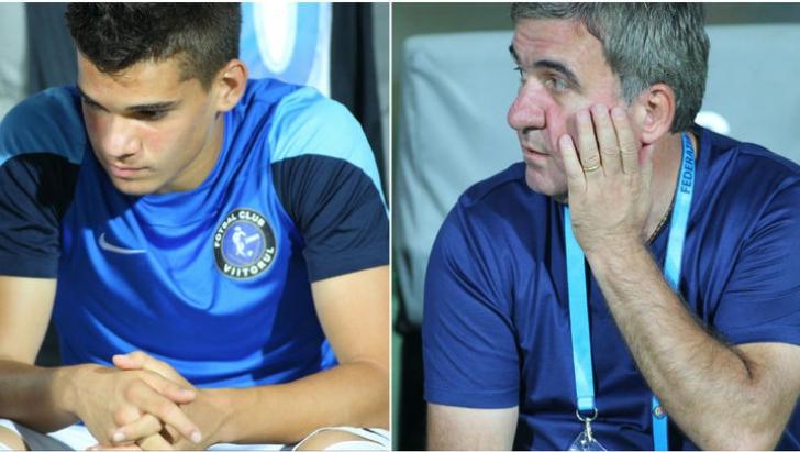 """Ianis Hagi are presa străină la picioare. Dacă tatăl său e """"Maradona din Carpaţi"""", puştiul este..."""