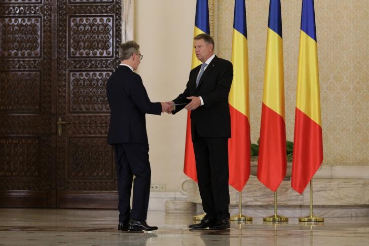 Noul ministru al Cercetării a depus jurământul, la Palatul Cotroceni / Foto: Inquam Photos / Octav Ganea