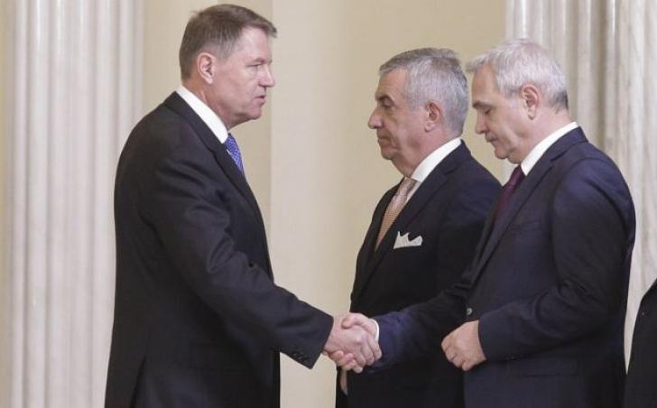Tăriceanu și Dragnea au abordat diferit întâlnirea cu Iohannis