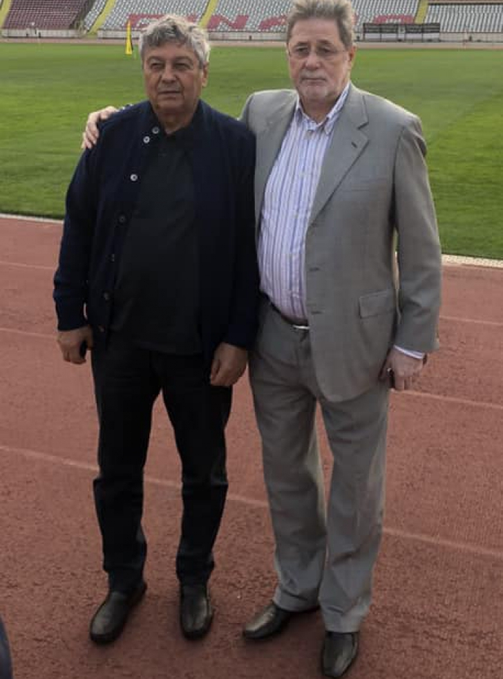 Mircea Lucescu, întâlnire-surpriză, miercuri, la Bucureşti