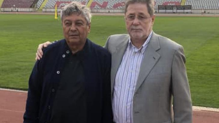 Mircea Lucescu şi Cornel Dinu au ţinut cu Steaua
