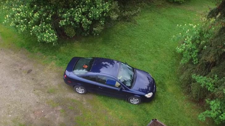 Bănuia că iubita îl înșală și i-a urmărit mașina cu o dronă. Ce a filmat l-a cutremurat