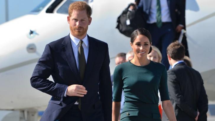Prinţul Harry şi ducesa Meghan, la un pas de tragedie aviatică