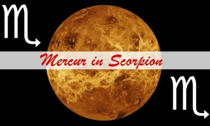 Mercur a intrat în Scorpion. Cum influențează toate zodiile, până la sfârșitul lunii!
