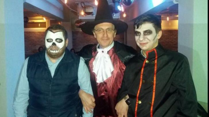 Nicolae Hurduc, vesel de Halloween