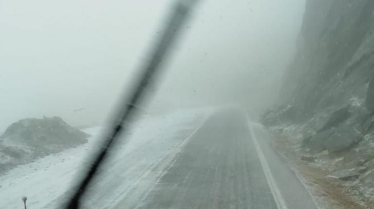 A venit IARNA! Imagini cu locurile din România unde ninge abundent