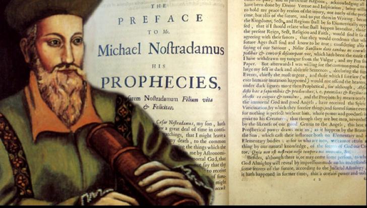 Nostradamus profeţii 2019