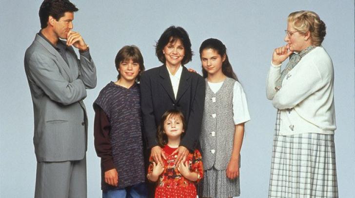 Revedere după 25 de ani. Pierce Brosnan și copiii lui Robin Williams din Mrs. Doubtfire s-au reunit