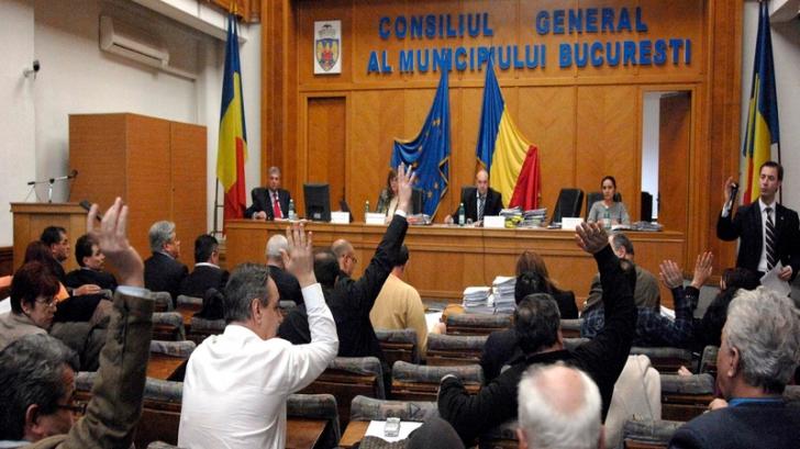 Rectificarea bugetară a trecut de Consiliul General al Primăriei Capitalei
