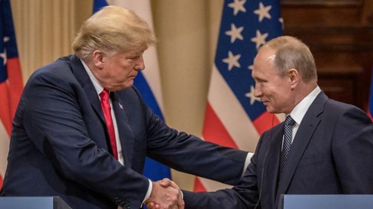 """Trump și Putin se întâlnesc din nou. De data aceasta în """"Orașul Luminilor"""""""