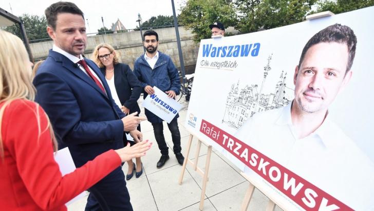 Rafal Trzaskowski a câștigat primăria Varșoviei din primul tur