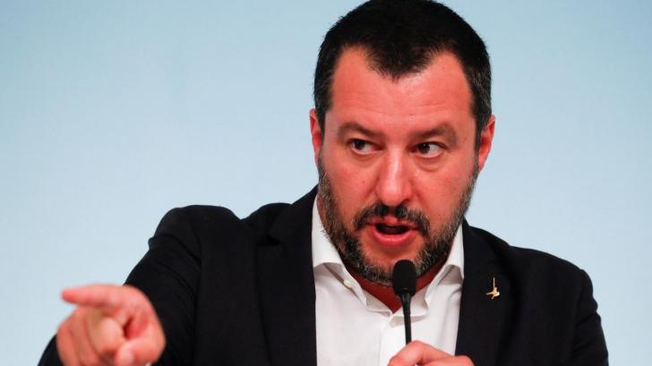 """Matteo Salvini, reacţie dură la criticile lui Jean-Claude Juncker: """"Vorbesc cu persoane treze"""""""