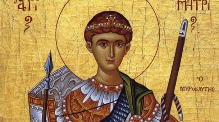 SĂRBĂTOARE MARE pentru creştinii ortodocşi. Ce NU ai voie să faci de Sfântul Dumitru