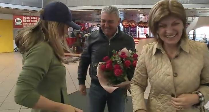 """Simona Halep a """"îngheţat"""" când a aterizat în România. Nu se aştepta la aşa ceva la aeroport"""