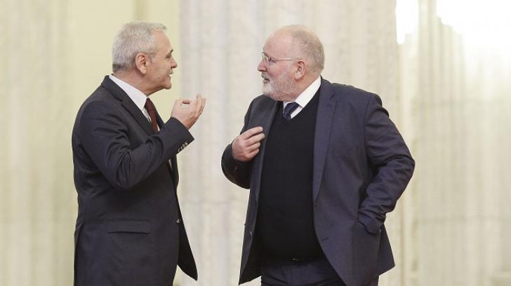"""Timmermans, sătul de minciunile PSD: """"Nu știu dacă Dragnea crede ce spune"""""""