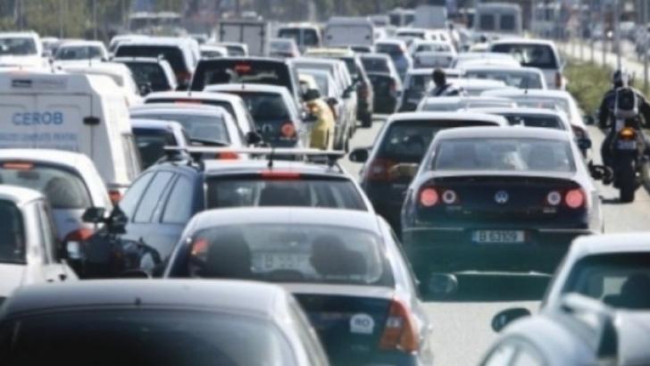 Circulaţie oprită pe Autostrada Bucureşti – Piteşti, pe ambele sensuri