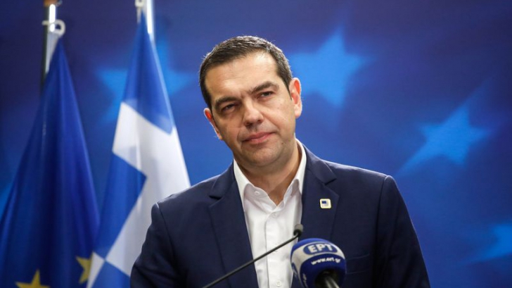 """Alexis Tsipras salută """"o zi istorică"""". Macedonia îşi schimbă numele"""