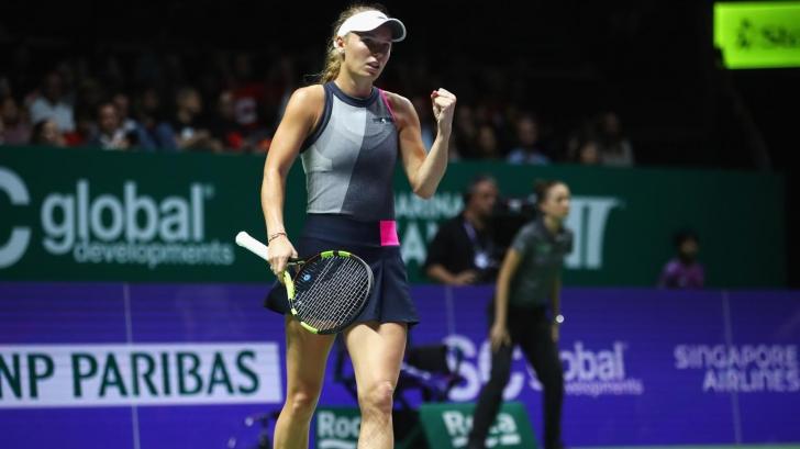 VIDEO | Prima victorie pentru Caroline Wozniacki la Turneul Campioanelor