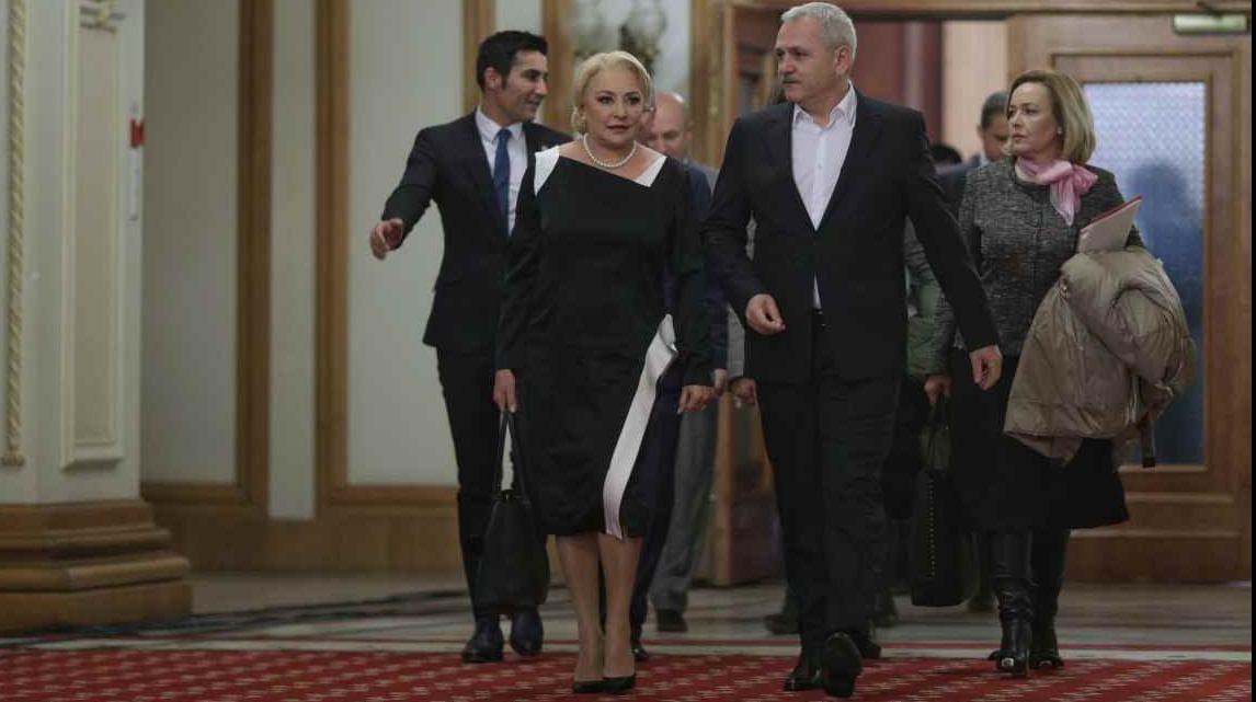 Dragnea si Dancila la CEx PSD din 19 noiembrie 2018