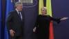 Viorica Dancila l-a primit pe Tajani