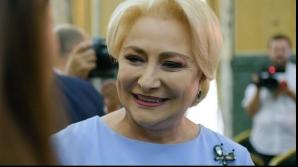 Viorica Dancila, premierul globe trotter