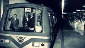 Imagini inedite din prima zi în care a circulat metroul bucureştean, 16 noiembrie 1979
