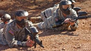 Militari americani la granița cu Mexicul