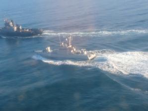 Rusia a încercat să blocheze flotila ucraineană