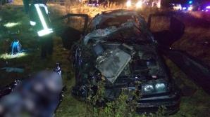 Realitatea de Covasna: Un mort şi doi răniţi într-un accident grav