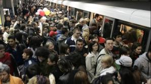 Aglomeraţie la metrou - foto de Arhiva