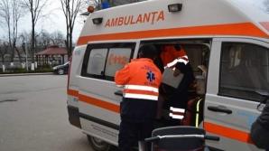 O femeie însărcinată, care a inhalat fum în urma incendiului din Chiajna, de urgență la spital