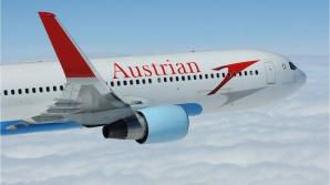 Un avion al Austrian Airlines, obligat să aterizeze după depistarea fumului în cabina piloţilor