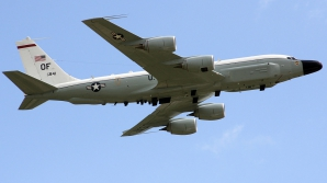 Un avion Boeing RC-135V
