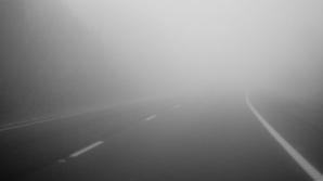 Cod galben de ceaţă densă în Bucureşti