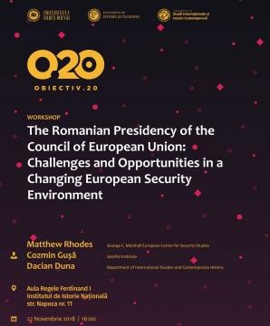 Cozmin Guşă, analiză geopolitică în cadrul unui workshop la Cluj-Napoca