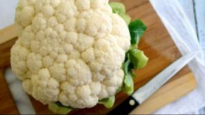 Reţete de post. Cum prepari o delicioasă mâncare de conopidă cu ciuperci