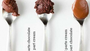 Cum faci trei tipuri de cremă de ciocolată delicioase folosind doar două ingrediente