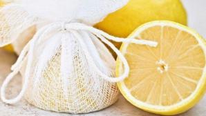 Cum să storci o lămâie fără să îţi cadă şi sâmburii în suc