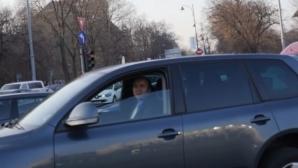 Tudorel Toader conduce o mașină primită cadou de la SRI
