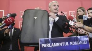 Liviu Dragnea a venit cu valizele la ședința Cex