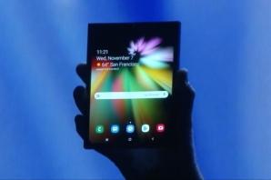Noul telefon pliabil de la Samsung