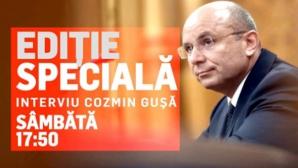 Interviu Cozmin Gușă, la DC News