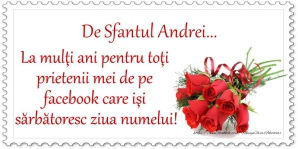 Sf Andrei 2018 mesaje, felicitari, urari, sms-uri - La multi ani!