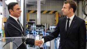 Ghosn si Macron