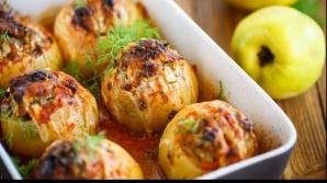 Reţetă inedită a zilei: gutui umplute cu carne