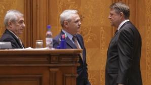 Iohannis în Parlament