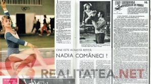 Prima fotografie color cu Nadia Comaneci din presa romaneasca, aparuta in revista Sport din martie 1973. Arhiva: Cristian Otopeanu