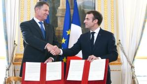 Iohannis şi Macron